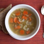 Simple Lentil Soup with Lemon & Dill