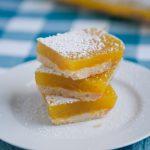 Vegan Lemon Bars & Agar Agar Flakes