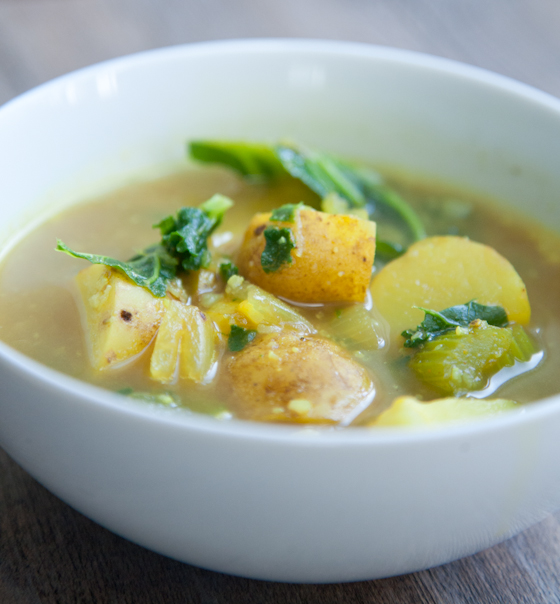Curried Cauliflower Soup With Honey Recipes — Dishmaps