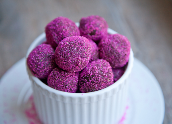 Vegan Chocolate Ginger Truffles