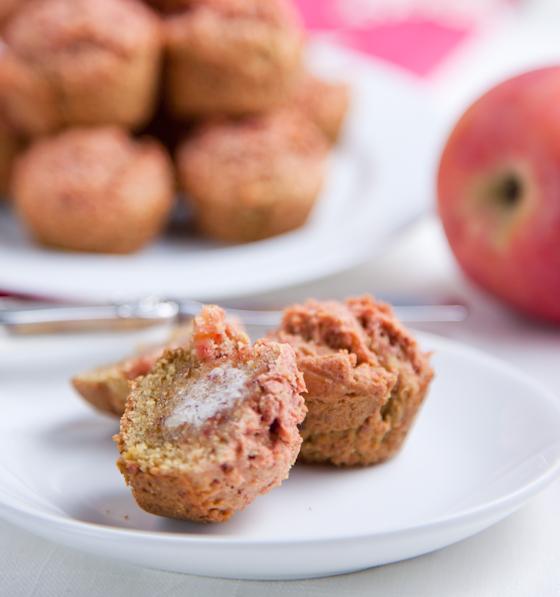 Juicer Pulp Mini Muffins
