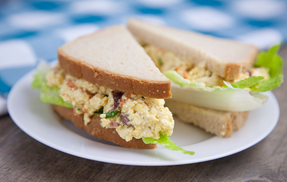 Vegan Egg Salad Sandwich