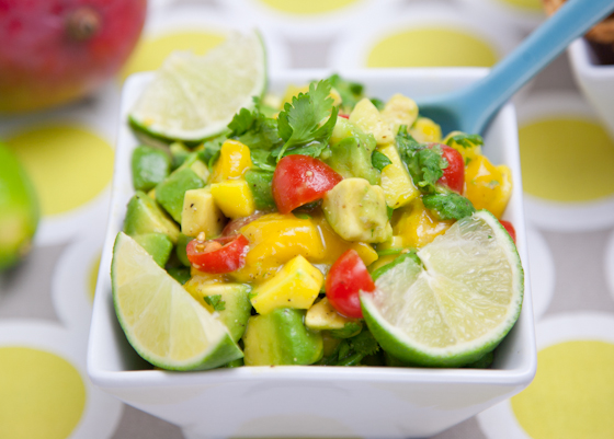 Mango Avocado Lime Salsa
