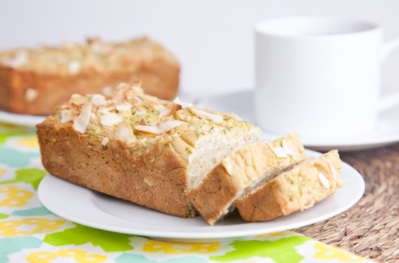 Coconut Lime Tea Cake
