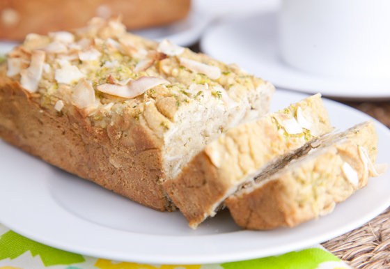 Vegan Coconut Lime Tea Cake
