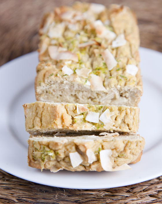 Gluten-Free Coconut Lime Tea Cake