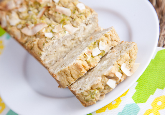 Sugar-Free Coconut Lime Tea Cake