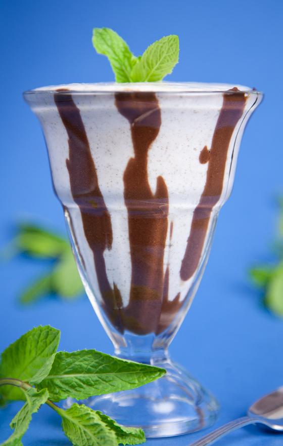Vanilla Chocolate Frappe