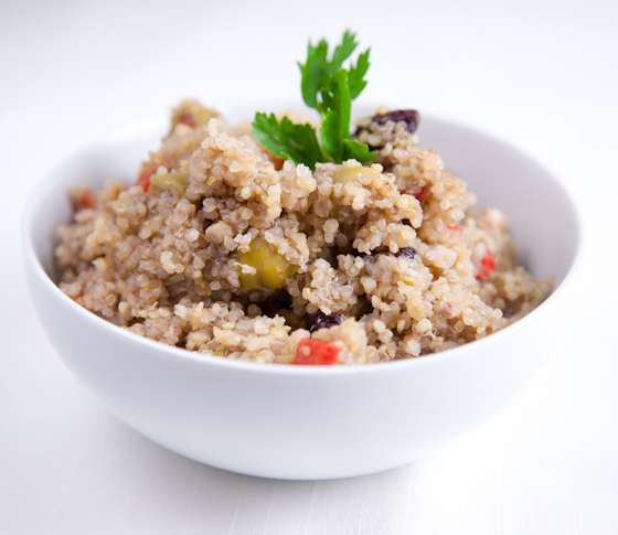 Quick & Easy Quinoa Salad »
