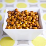 Tangy Balsamic Roasted Chickpeas