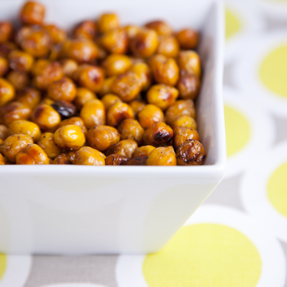 Balsamic Vinegar Baked Chickpeas