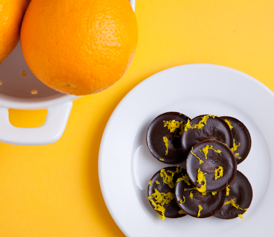 Vegan Orange Chocolate No Sugar