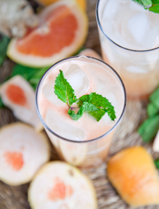 Ginger Grapefruit Spritzer