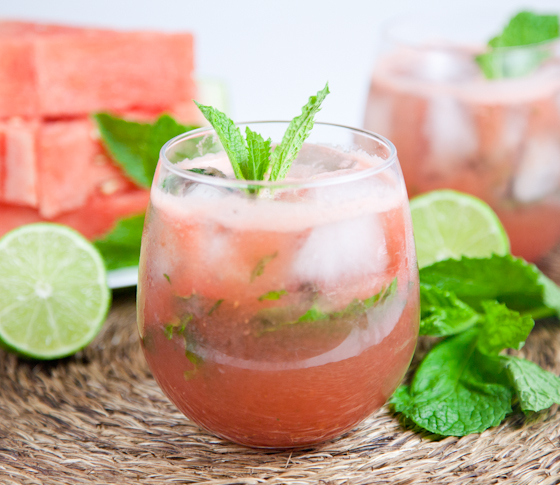 Watermelon Mojitos