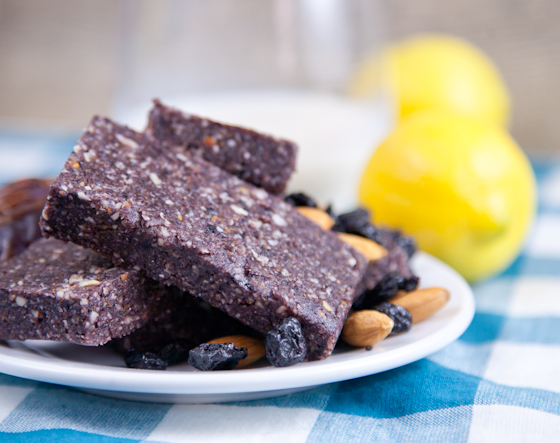 Coconut Blueberry Lemon Bars