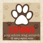 23PAWS & Olive Eats Watermelon