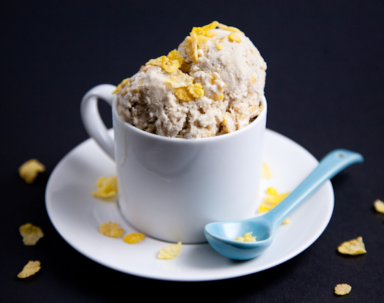 ... best known for – Secret Breakfast – a bourbon ice cream with corn