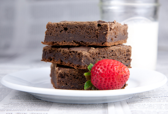 Gluten-Free Vegan Brownies