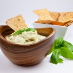 Fresh Basil Cannellini Bean Dip
