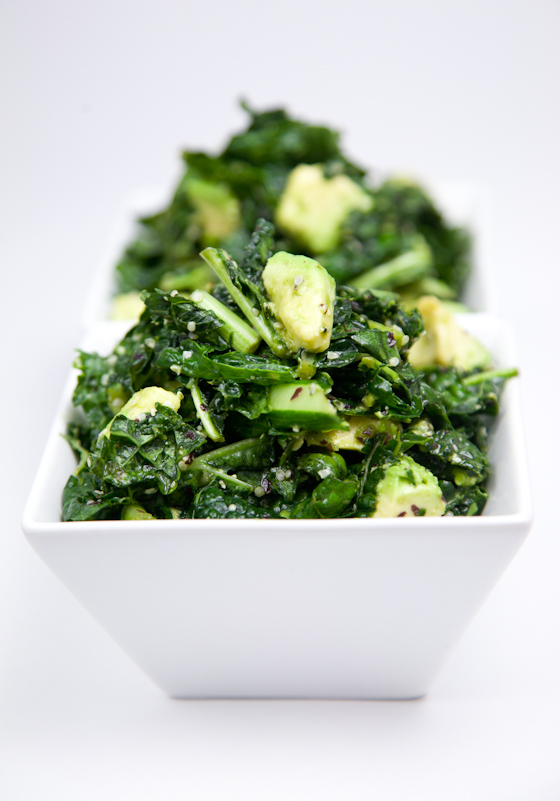 Kale Salad with Island Soyaki
