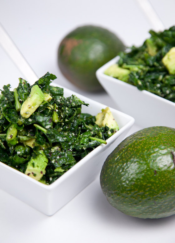 Massaged Kale Salad with Island Soyaki