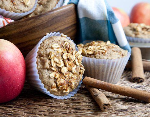 Apple Cinnamon Muffins with Spelt Flour