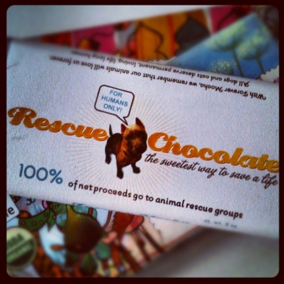 Rescue Chocolate