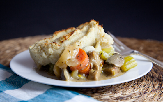 Mock Mashed Potato Shepherd's Pie