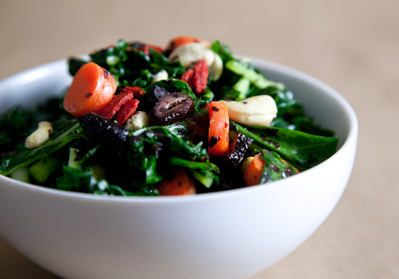 Superfood Massaged Kale Avocado Salad