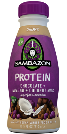 Sambazon Chocolate Almond Coconut Milk Smoothie