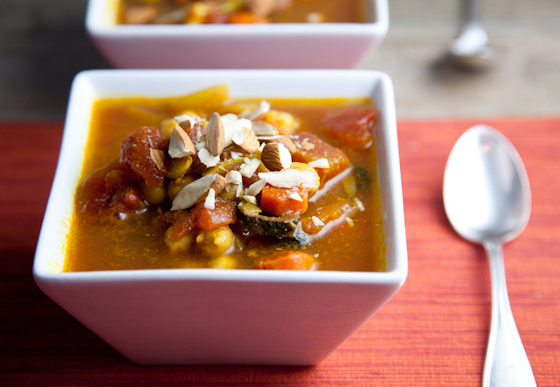 Spiced Vegetable Chickpea Stew