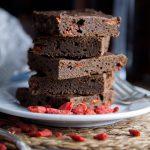 Goji Berry Brownies