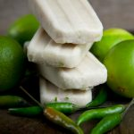 Coconut Lime Thai Chili Popsicles