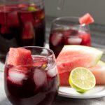 Sparkling Watermelon Berry Kombucha Sangria