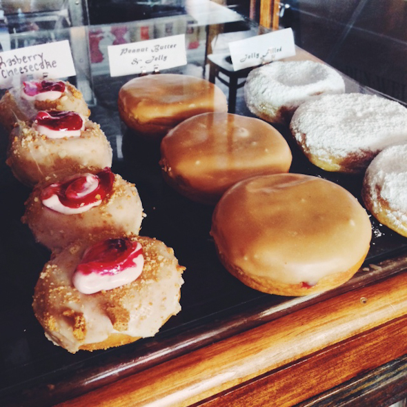 Dun-Well Doughnuts Display