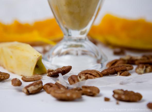 Spiced Apple Butternut Squash Smoothie (Vegan & GF) // Pickles & Honey