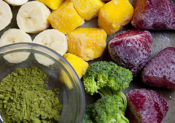 Matcha Powerhouse Breakfast Smoothie (Vegan, Raw, Nut-Free) | picklesnhoney.com