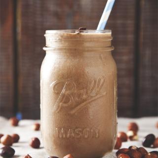 Non-Dairy Nutella Protein Smoothie