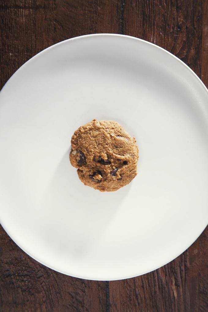 Easy Vegan Pumpkin Chocolate Chip Cookies