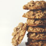 Pistachio Chocolate Chip Oatmeal Raisin Cookies (Vegan) | picklesnhoney.com