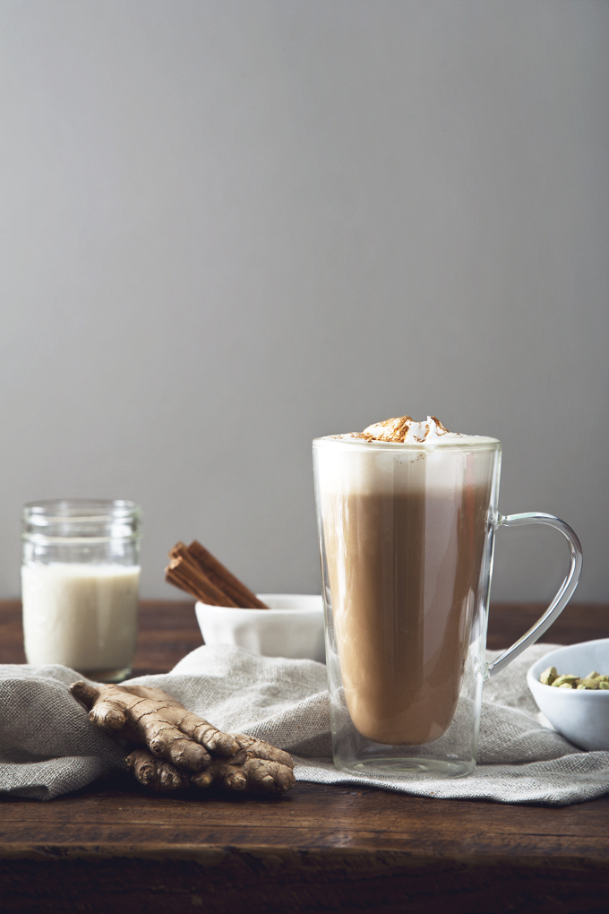 Perfect Vegan Chai Latte | picklesnhoney.com