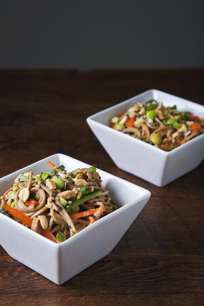 Cold Peanut Sesame Noodles Recipe — Dishmaps