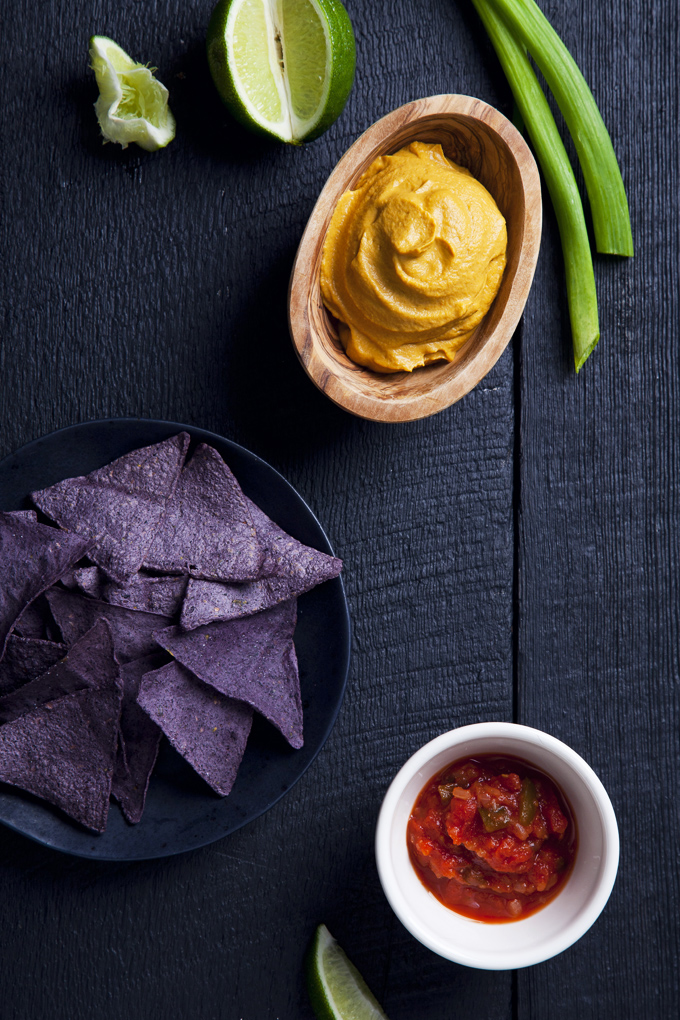 Easy Vegan Queso Dip | picklesnhoney.com