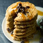 Gluten-Free Chocolate Chip Oatmeal Cookie Pancakes