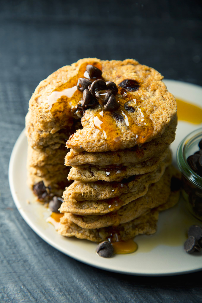 Vegan gf chocolate chip oatmeal cookie pancakes vegan gluten free chocolate chip oatmeal cookie pancakes picklesnhoney ccuart Gallery