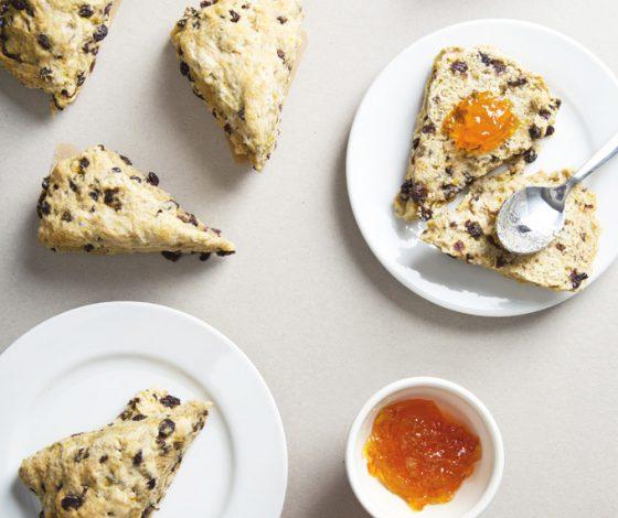 Vegan Irish Soda Bread Scones   picklesnhoney.com