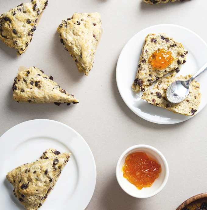 Vegan Irish Soda Bread Scones | picklesnhoney.com