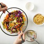 "Vegan Chinese ""Chicken"" Salad"