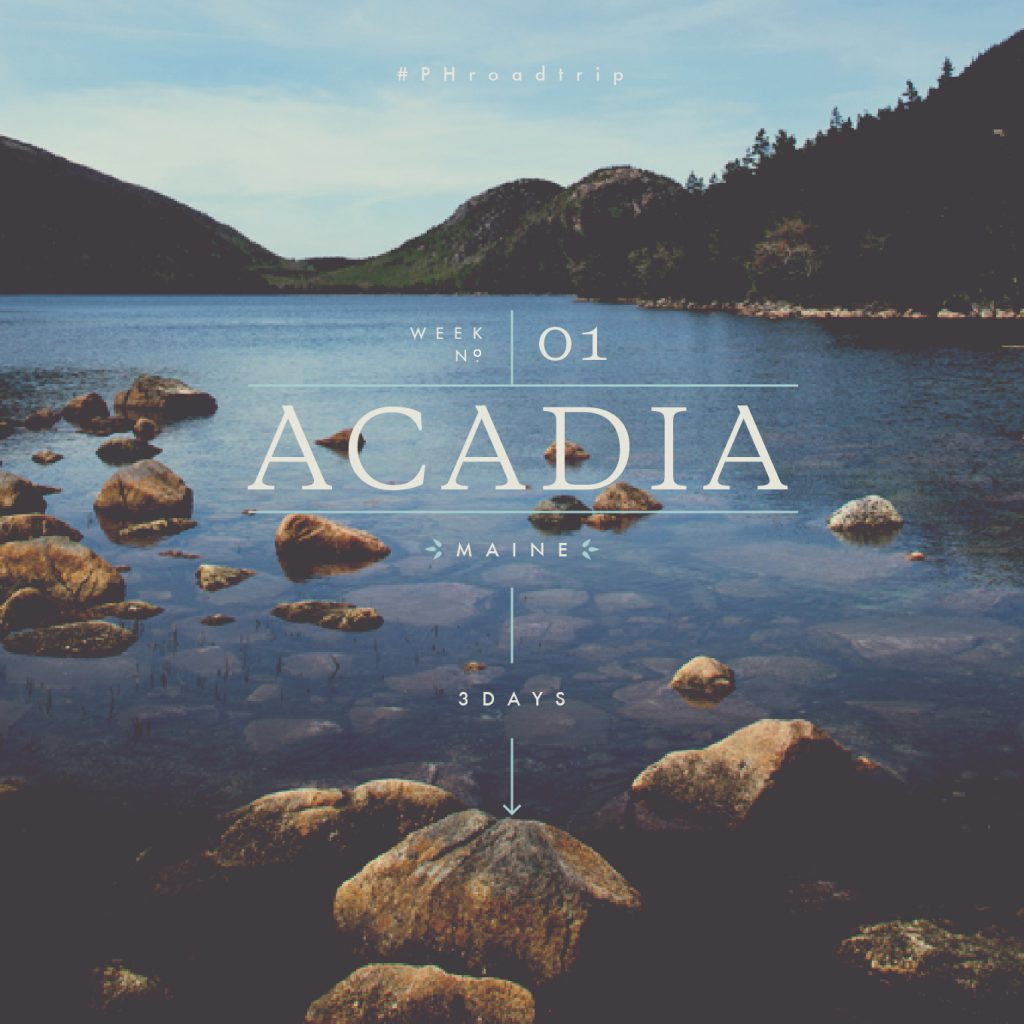 #PHroadtrip Week 1: Boston to Acadia to The White Mountains | picklesnhoney.com