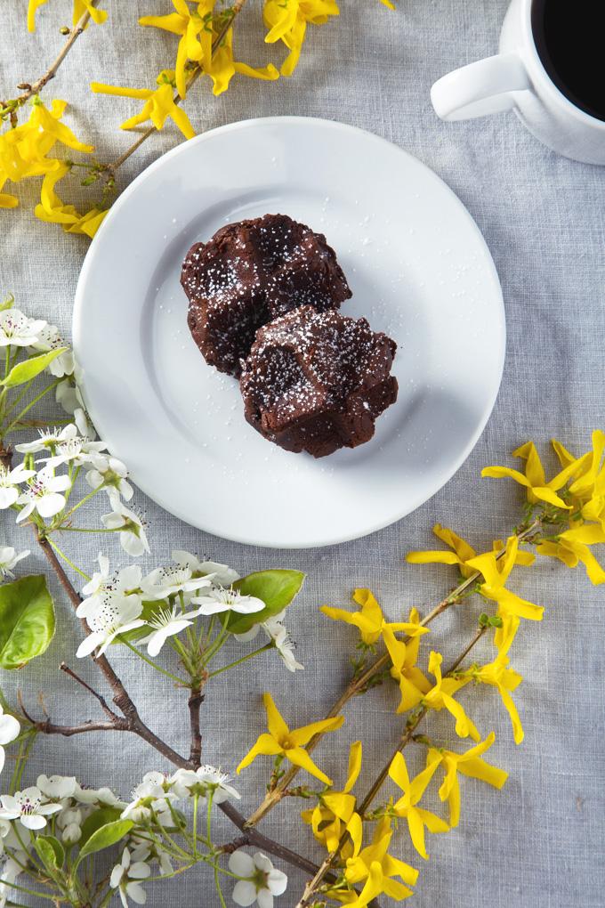 Vegan Triple Dark Chocolate Waffle Cookies | picklesnhoney.com
